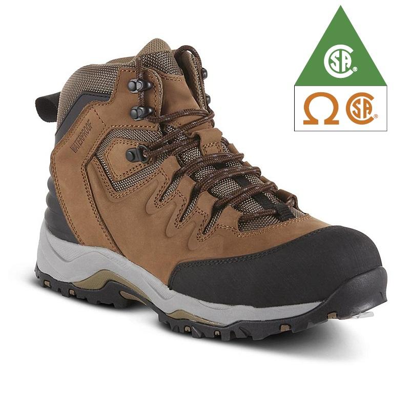 Men's Leo Steel Toe Waterproof Work Boot – Tan Featured Image