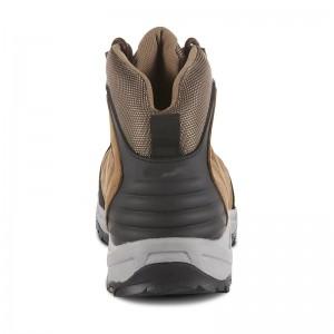Men's Leo Steel Toe Waterproof Work Boot – Tan