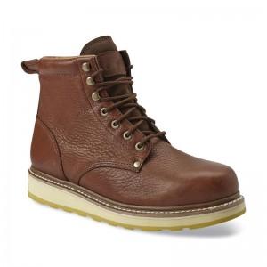 Men's 6″ Soft Toe Work Boot – Brown